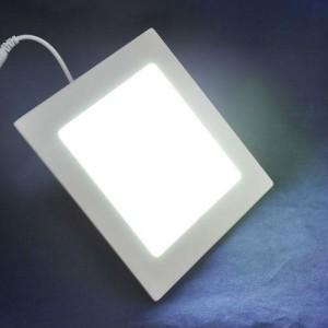 Square slim led light