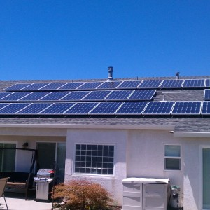 Solar roof top kit