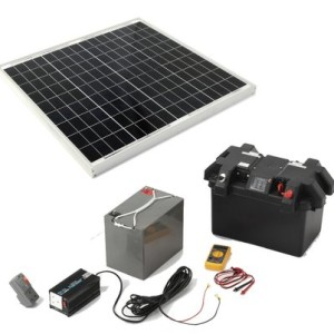 off grid solar roof top kit