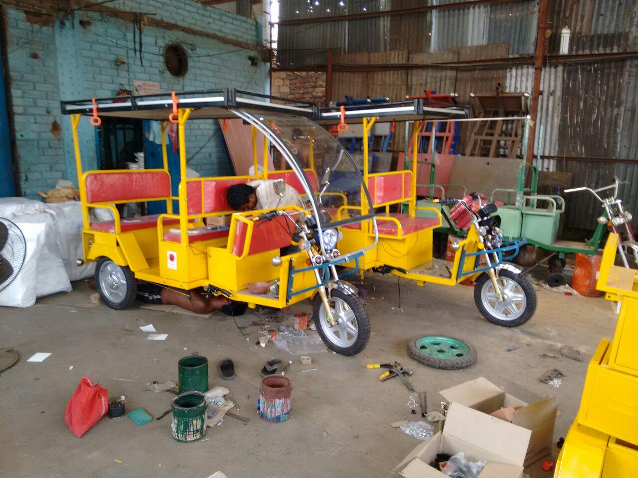 Buy online solar E-rickshaw at Best Price in India | India