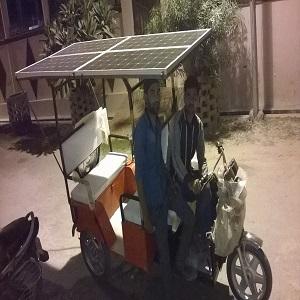 Solar E Rickshaw