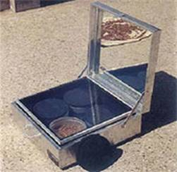 Solar Box and Dish Cooker