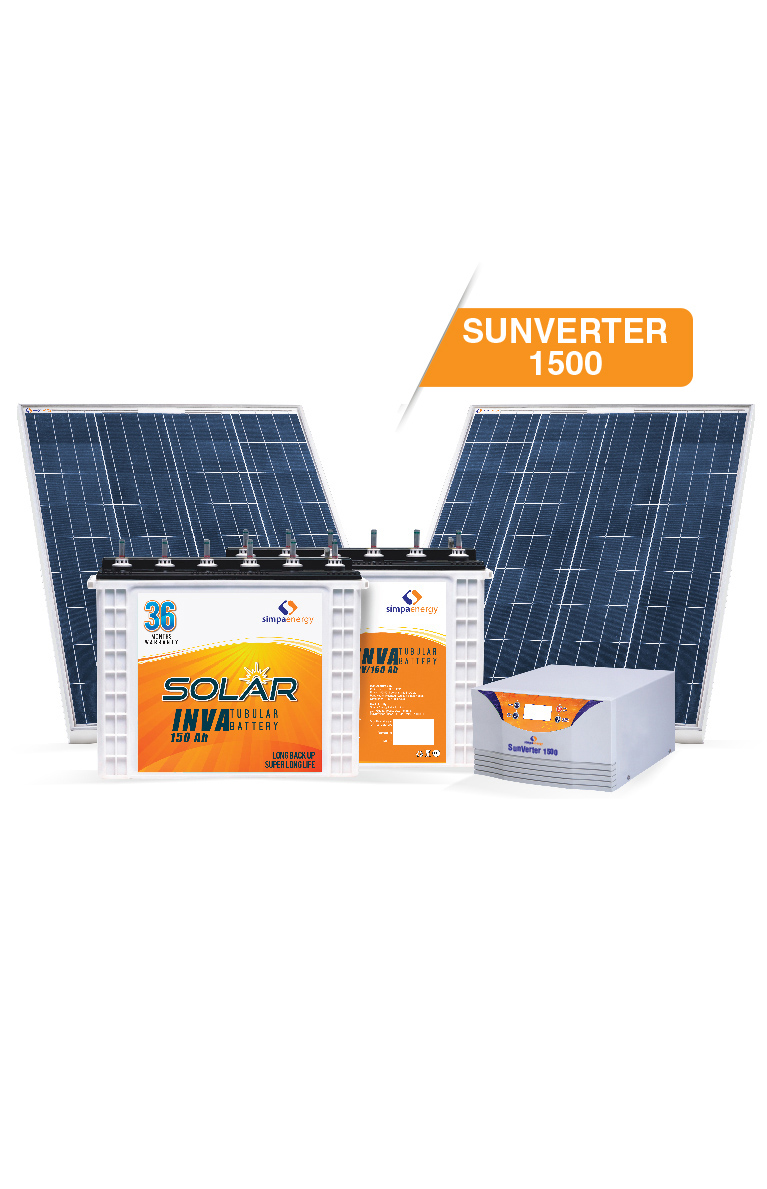 600 Watt Solar Off Grid Kit With Back Up India Go Solar