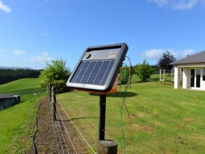 Solar Power Fence