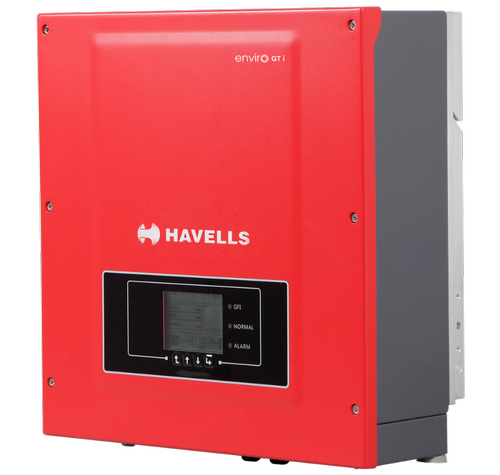 Havells 5 5KW Grid Connected, Dual MPPT 3- Phase Solar
