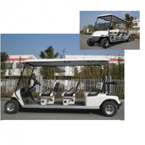 RO A6-ELECTRIC SIX SEATER GOLF CART
